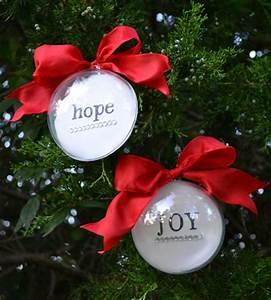 Easy and Inexpensive Handmade Ornament Beneath My Heart