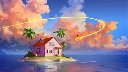 Dragon Ball Kame Background Wallpapers 4k Anime