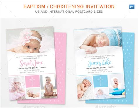 FREE 15+ Christening Invitation Designs & Examples in PSD