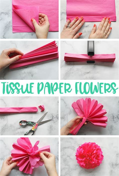tissue paper flowers  ultimate guide tissue paper