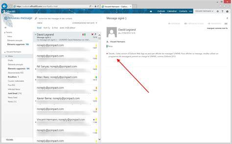 Le Chiffrement Smime Des Emails Débarque Dans Office 365