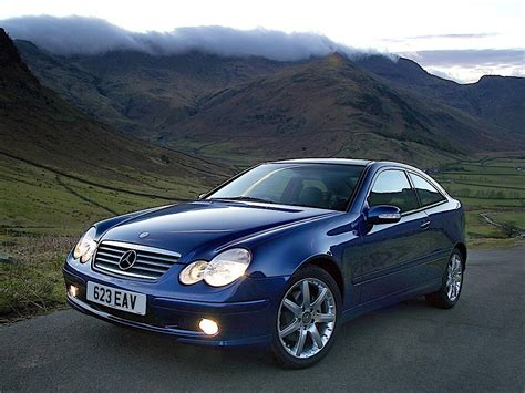 The new c‑class discover a new kind of comfort. MERCEDES BENZ C-Klasse SportCoupe (C203) - 2000, 2001 ...