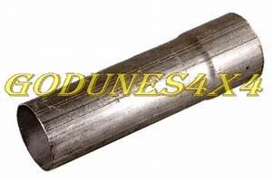Tube D Échappement : tube d 39 echappement universel acier 57mm pi ces 4x4 et accessoires toyota ~ Melissatoandfro.com Idées de Décoration