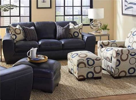 Navy Blue Leather Sofa And Loveseat by Navy Blue Leather Sofa And Loveseat Thesofa