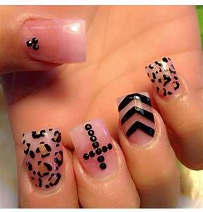 Rhinestone Cross Nail Designs | www.imgkid.com - The Image ...