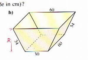 Gleichschenkliges Dreieck Berechnen Online : trapez als querschnitt volumen und oberfl che onlinemathe das mathe forum ~ Themetempest.com Abrechnung