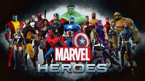 2 Marvel Heroes Hd Wallpapers  Backgrounds  Wallpaper Abyss