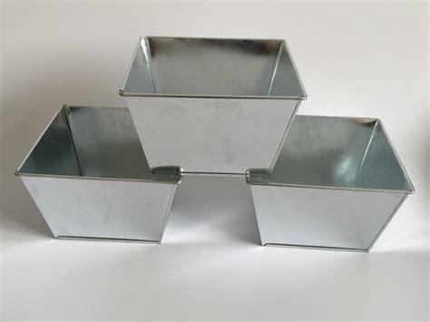 pcslot dhcm cheap tin galvanized pot square metal