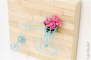 Diy wall art mini vintage bicycle crafts unleashed