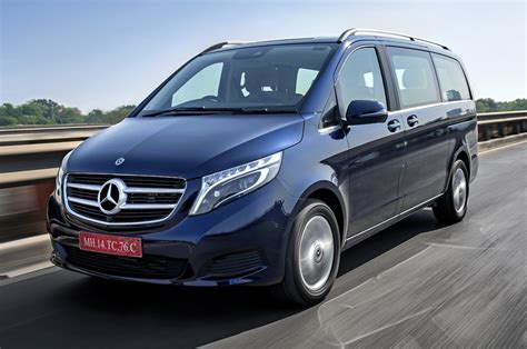 The front grille is now larger and the headlights have an artificial intelligence look. 2019 Mercedes-Benz V 220d review, test drive - Autocar India