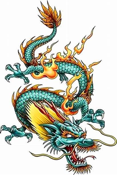 Dragon Chinese Tattoo China Clipart Creature Legendary