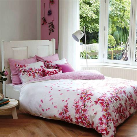 japanese cherry blossom bedding set emerson design