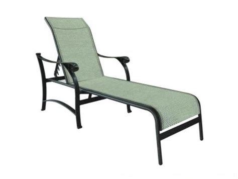 chaise york york adjustable sling chaise lounge costa furniture