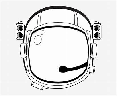 Helmet Astronaut Background Clipart Space Transparent Illustration