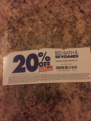 81652 Bbby Coupon by Bed Bath Beyond Boosting Promotional Activity At The