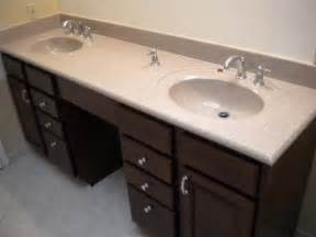 ideas double bathroom vanity with makeup area double sink