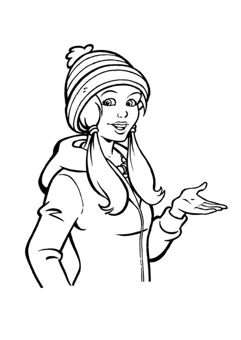 Kleurplaat Amika by N 14 Coloring Pages Of Amika