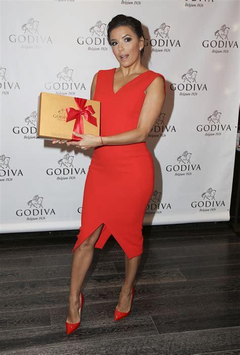 The Toe Cleavage Blog Red  Eva Longoria