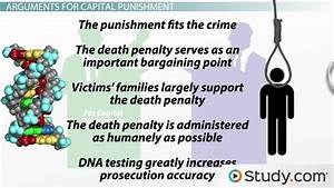 Arguments For and Against Capital Punishment - Video ...