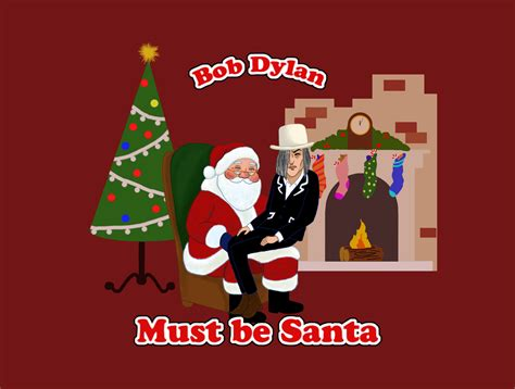 ipaintwithiphone a bob dylan christmas