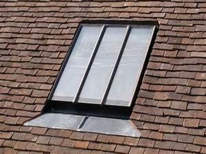 Fenetre De Toit Fixe : fen tre de toit projection 100 encastr tuiles cast pmr ~ Edinachiropracticcenter.com Idées de Décoration