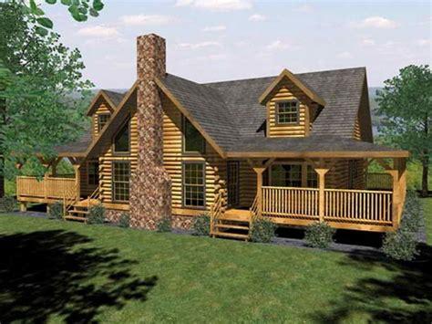 log cabin house plans  open floor plan log cabin house