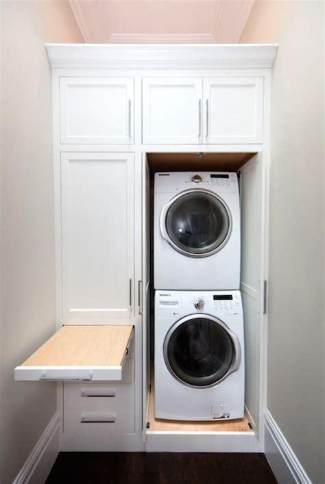 stackable washer  dryer design ideas