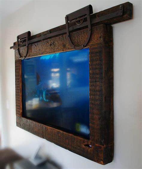 9 Awesome Diy Frames For Your Flatscreen Tv Architecture