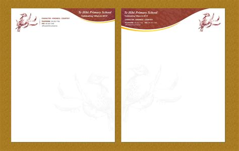elegant personable letterhead design  natasha yates