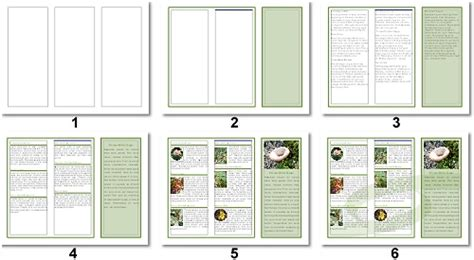 3 Column Brochure Template by Lpg Openoffice Writer Libreoffice Creating A 3 Panel