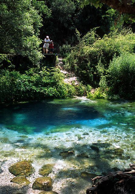 Saranda (Albania) - Syri i kalter   Blue Eye Spring (Syri ...