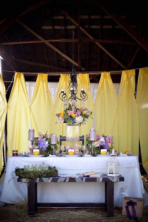 yellow and purple barn wedding ideas wedding blog and