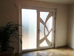 porte dentree moderne blanche urbantrottcom With porte d entrée alu avec salle bain contemporaine