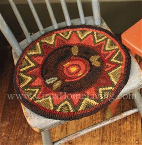 1000 images about rug hooking chair pads on pinterest