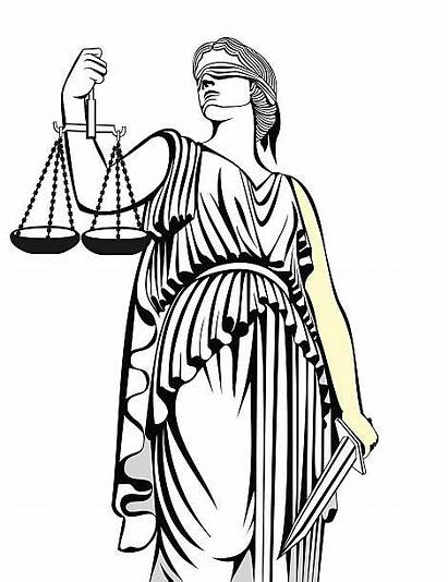 Justice Goddess Lady Law Themis Greek Vector