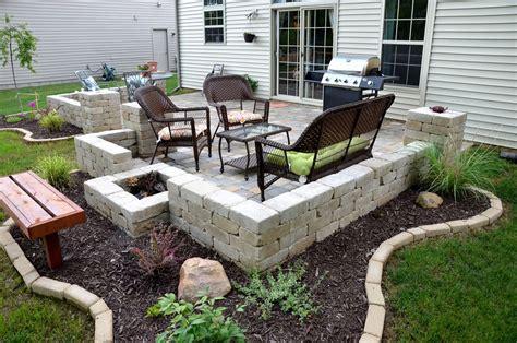 small paver patio paver patio ideas for enchanting backyard amaza design