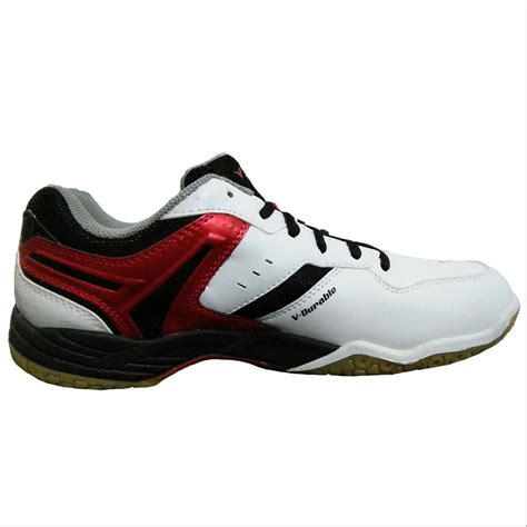 victor sh   badminton shoes white  red buy
