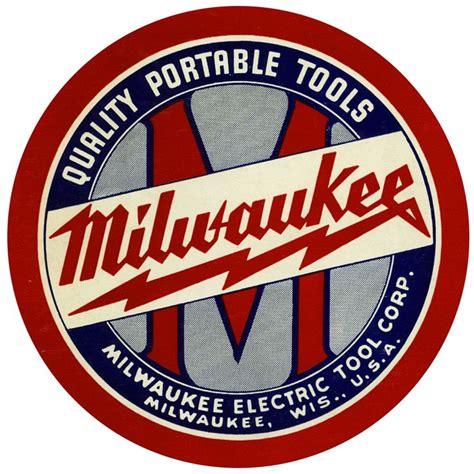 milwaukee electric tool corporation vintage logo