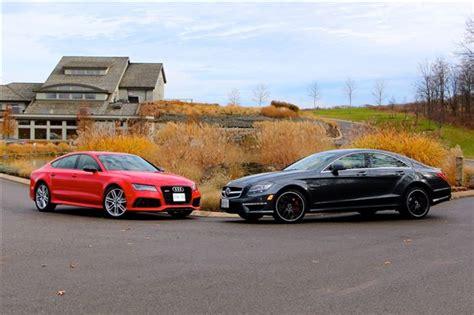 Comparison Test 2014 Audi Rs 7 Vs 2014 Mercedesbenz Cls