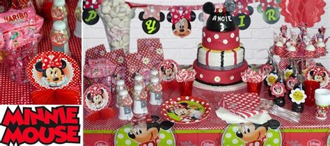 deco anniversaire theme minnie thema decofr thema deco