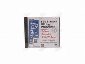 Wiring Diagram Manual 1978 Ford Truck On Cd