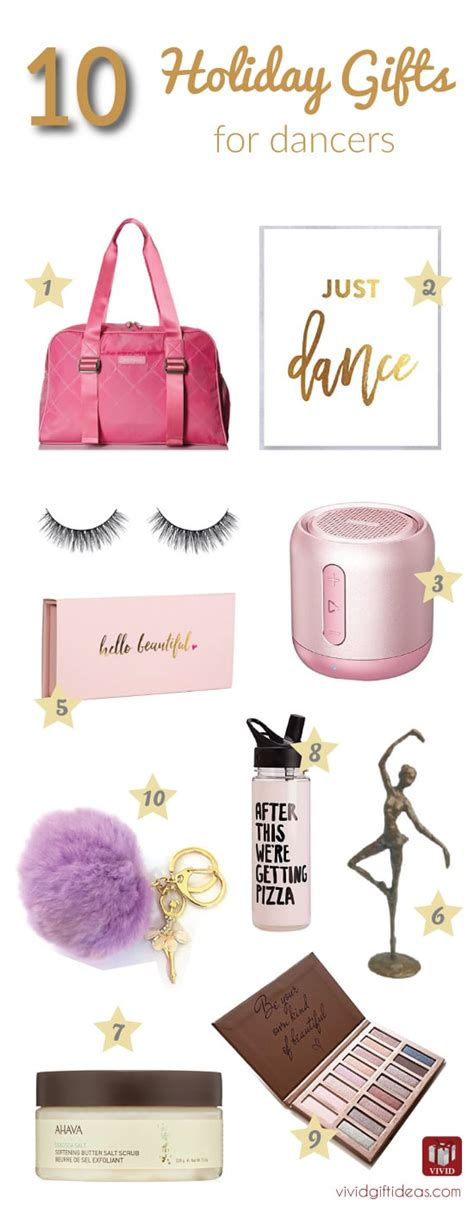 10 best holiday gift ideas for dancers vivid s