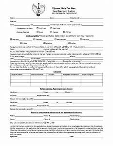 How To Fill Out An Employment Application Tijuana Flats App Fill Online Printable Fillable