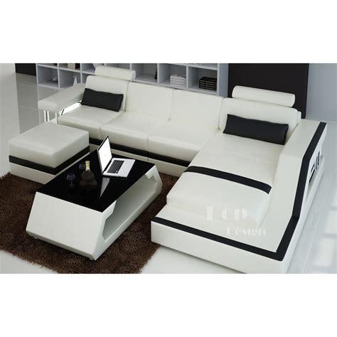 canape cuir angle blanc petit canapé d 39 angle cuir blanc