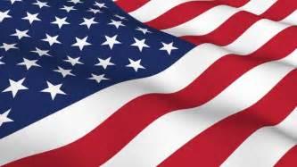 American Waving USA Flag