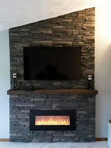 Scott39s DIY Stone Fireplace GenStone Faux Stone