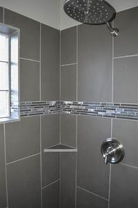 Master walk in shower with glass block window and for Windows for bathroom showers