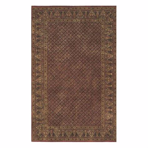 home depot rug home decorators collection lichi rust 8 ft x 11 ft area