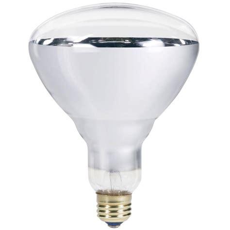 light bulbs home depot philips 250 watt 120 volt incandescent br40 heat l