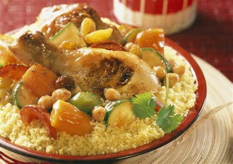 recette cuisine traditionnelle couscous de poulet aux légumes frais maggi